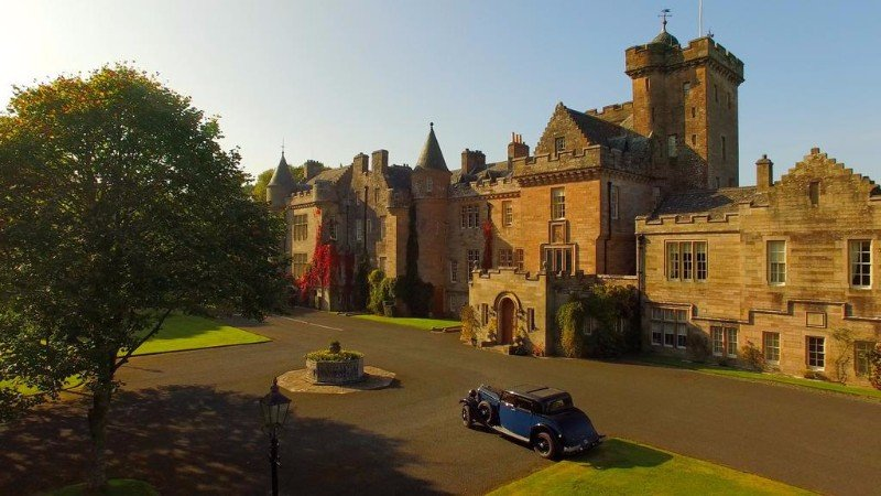 castle-hotels-near-glasgow-scotland