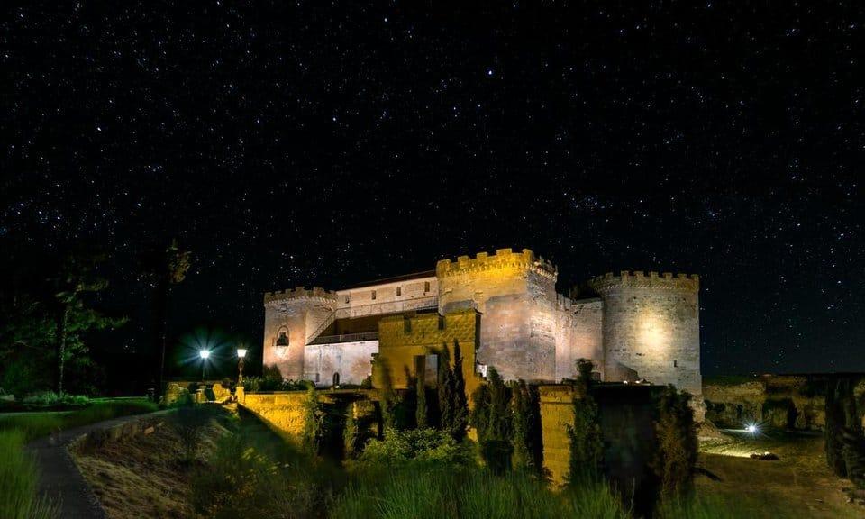 Parador & castle hotel near Salamanca & Madrid, Spain.
