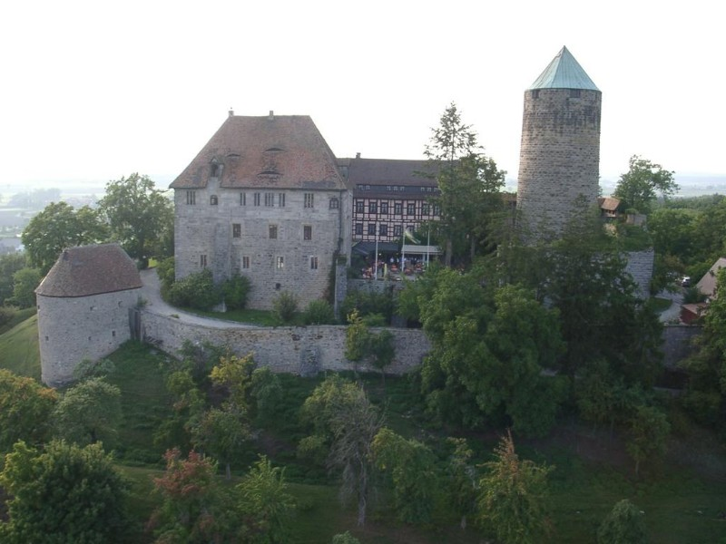 Castle Hotel near Rothenburg & Ansbach, Germany: Colmberg Castle