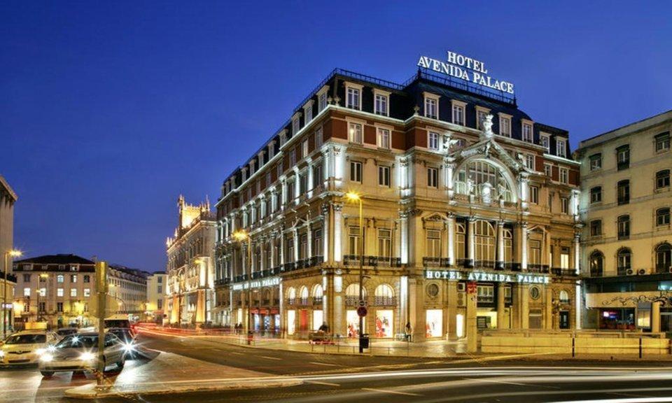 Avenida Palace Hotel, Lisbon portugal